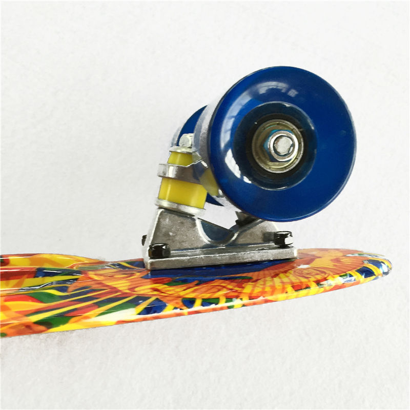 Image 5 - New 22 Inch Good Quality Street board Fish board Or banana board for skater  to Enjoy the skateboarding With Mini rocket board-in Skate Board from Sports & Entertainment