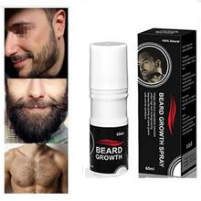 Hair Loss Beard Growth Spray Beard Grow Stimulator Natural Accelerate Beard Growth Oil