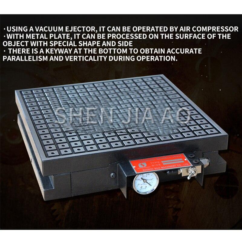 1PC 600*600 CNC Vacuum Suction Cup Tool Vacuum Permanent Magnet Suction Cup Machine CNC Magnet Vacuum Disk Copper,Aluminum Plate - 3