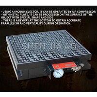 400*500 CNC Vacuum Suction Cup Tool Vacuum Permanent Magnet Suction Cup CNC Powerful Magnet Vacuum Disk Copper  Aluminum Plate