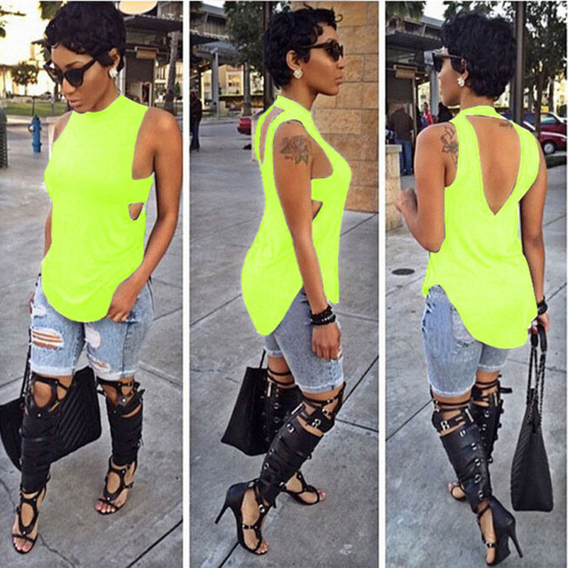 Fashion sexy ladies sleeveless