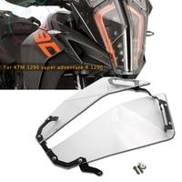 FOR motorcycle KTM 1290 super adventure R 1290 super adventure S Transparent Headlight Guard Headlight Protector