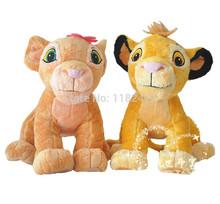 Król lew Simba i Nala pluszowa zabawka miękkie wypchane zwierzęta 35 cm 14 zabawki dla dzieci prezenty dla dzieci tanie tanio Miękkie i pluszowe Pp bawełna Takzag Pluszowe nano doll Tv movie postaci Unisex 3 lat Rysunek statua Simba and Nala