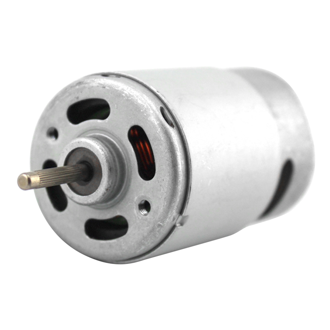 6-12V 550 Mini DC Motor Strong Magnetic Brush Strong Driving Force Large Torque поводковый материал trabucco t force ultra strong saltwater