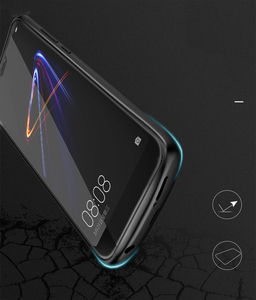 Image 5 - Funda de silicona a prueba de golpes para cargador de batería para Xiaomi Mi 8 Lite, funda para cargador externo, funda para banco de energía de respaldo, batería de 4700mAh