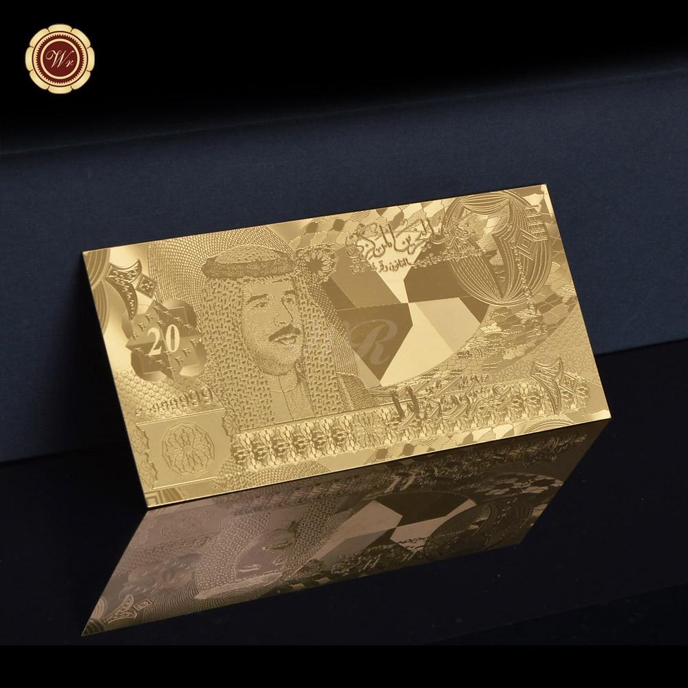 Уникальные цветные золотые банкноты AAA, высококачественные банкноты из 24-каратного золота в Бахрейне, золотые 999 бриллианты, подарок для кол...