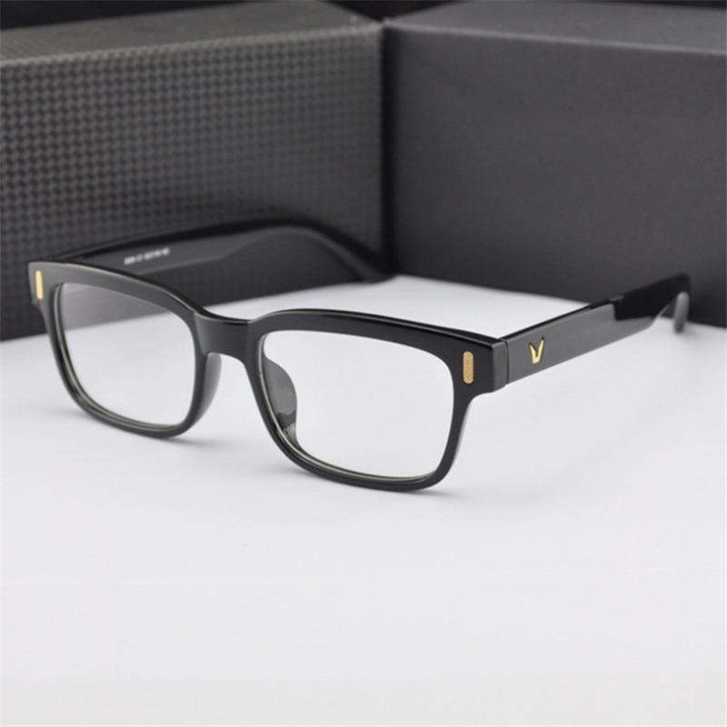 2018 de moda estudiantes calientes Óptica Gafas Marco Transparente Para gafas de mujer hombres Anteojos de computadora Gafas de Grau masculinos