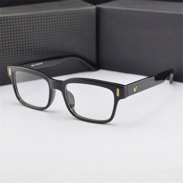 2018 mode chaude étudiants Optique Lunettes Cadre Transparent Pour lunettes  pour Femmes hommes Ordinateur lunettes Oculos a01fd7097ddf