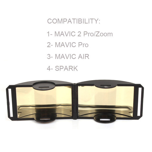 Mavic 2 Pro/Zoom Signal Booster Remote Controller Antenna Amplifier Range Extender for DJI MAVIC 2/Spark Air Drone Accessories