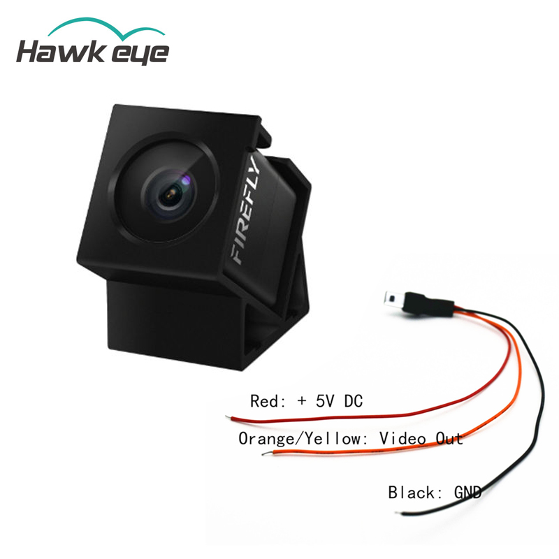 лучшая цена Hawkeye Firefly 160 Degree HD 1080P DVR Built-in Mic FPV Micro Action Camera Mini Cam W/ Cable For RC Drone Part Accs
