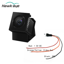 Hawkeye Firefly 160 Derece HD 1080 P DVR dahili mikrofon FPV Mikro Eylem Kamera mini kamera W/Kablo RC Drone Için parça Accs