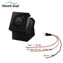 Hawkeye Firefly 160 stopni HD 1080P DVR wbudowany mikrofon FPV mikro kamera akcji mini kamera W/kabel dla RC Drone część Accs
