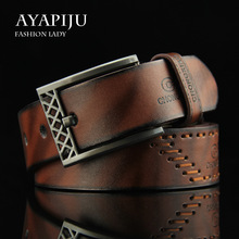 Classic Belt Male Leather Belt Men Strap Male Genuine Leather Luxury Pin Buckle Belts for Men Belt Cummerbunds Ceinture Homme