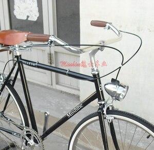 Image 5 - Volante clásico de aluminio para bicicleta, manillar retro para bicicleta, piezas para bicicleta CSW013