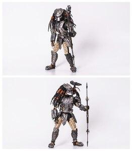 Image 5 - Poupée AVP cicatrice prédateur MMS190 figurines modèle C 1/6 échelle mobile M18 pré peinte Alien vs prédateur jouets 32cm
