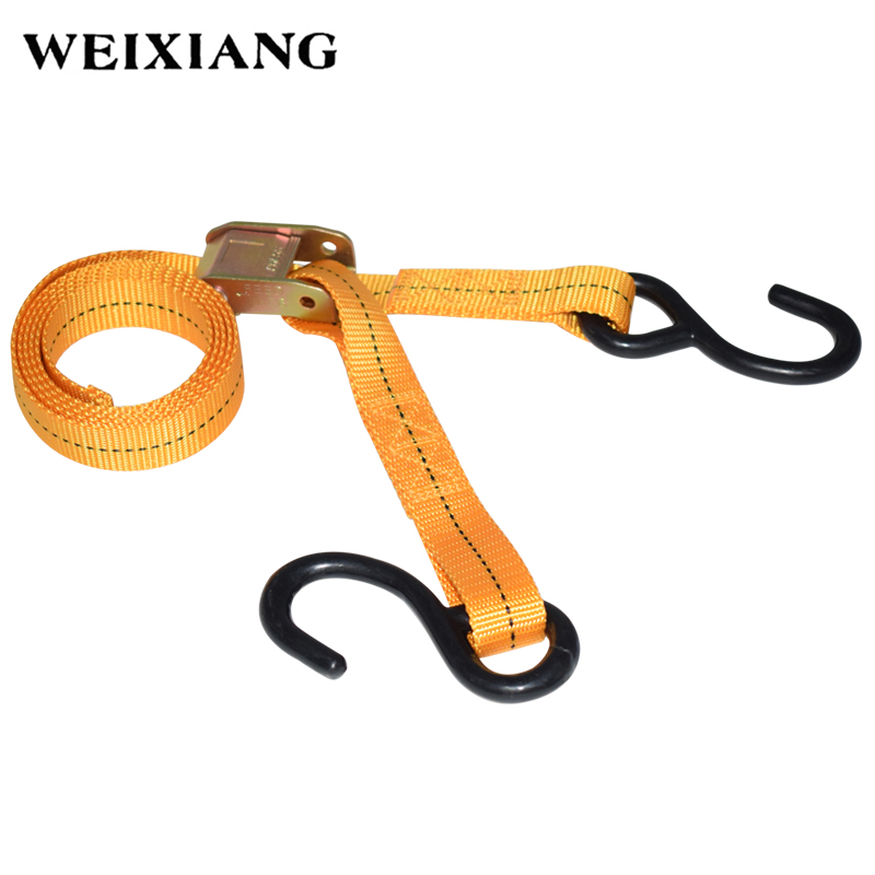Heavy Duty Secure Tie Down Rope Cargo Luggage Lashing Straps Webbing For Motorcycle Bike SUV Car Roof Cargo Outdoor Camping