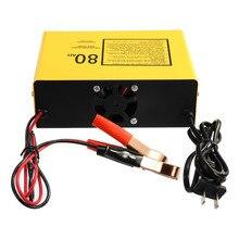 Профессиональное автомобильное зарядное устройство 140 вт полностью автоматическое быстрое зарядное устройство 6 в/12 В 80AH автоматическое интеллектуальное отрицательное импульсное Горячее предложение