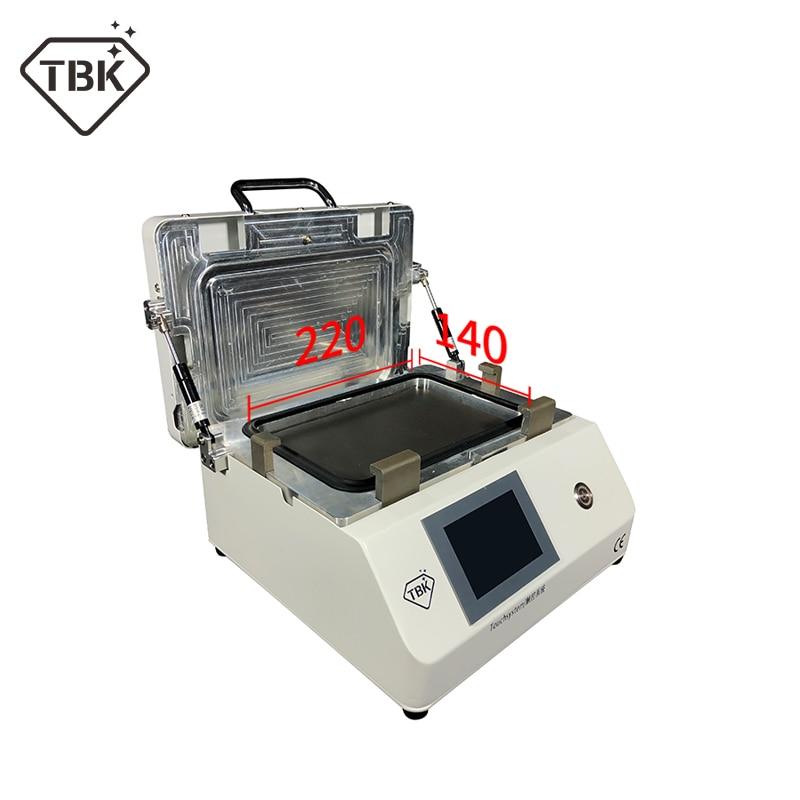 2019 новейший upgrated TBK-808M ЖК сенсорный экран ремонт автоматическая машина для удаления пузырей OCA вакуумное Расщепление машина