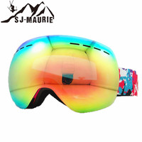 Anti fog Winter Skiing Glasses Double Layers Ski Goggles Snow Mask UV400 Snowboard Eyewear Sports Glasses