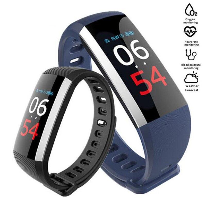 Smart Watch Blood Pressure Monitor Fitness Bracelet Pesometro Smart Band Vibrating Alarm Clock Smart Bracelet For Xiomi