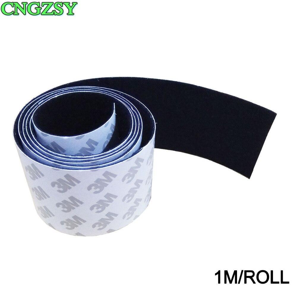 1M/roll 4.8cm Car Vinyl Film Wrap Felt Automobile Window Tint Tool Squeegee Fabric Felt Edge With Self Adhensive Glue A08-1M