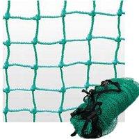 10ft x 10ft Green Strong Nylon Rope Golf Practice Net Sports Football Tennis Barrier Impact Net Golf Training Aids Equipment