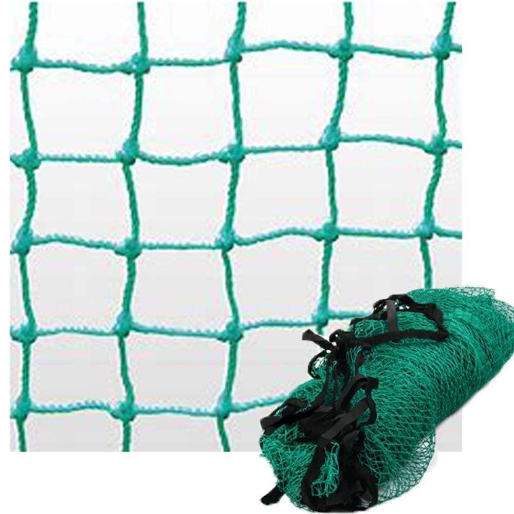 10ft x 10ft Vert Une Corde En Nylon Solide Filet De Pratique De Golf Sport Football Tennis Barrière L'impact Filet D'entraînement de Golf D'équipement D'aides