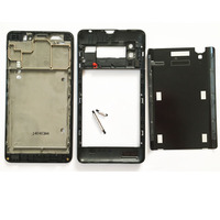 New Full Housing For Lenovo P780 Front Bezel Lcd Frame Middle Panel Back Cover Rear Battery