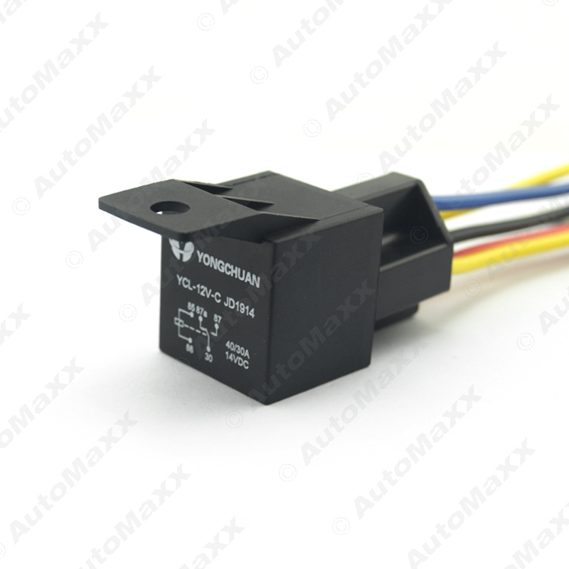 Car font b Automotive b font JD1914 5 pin 12VDC 40 30A Constant Closed font b 12v relay automotive harness promotion shop for promotional 12v 12V DC Battery at gsmx.co