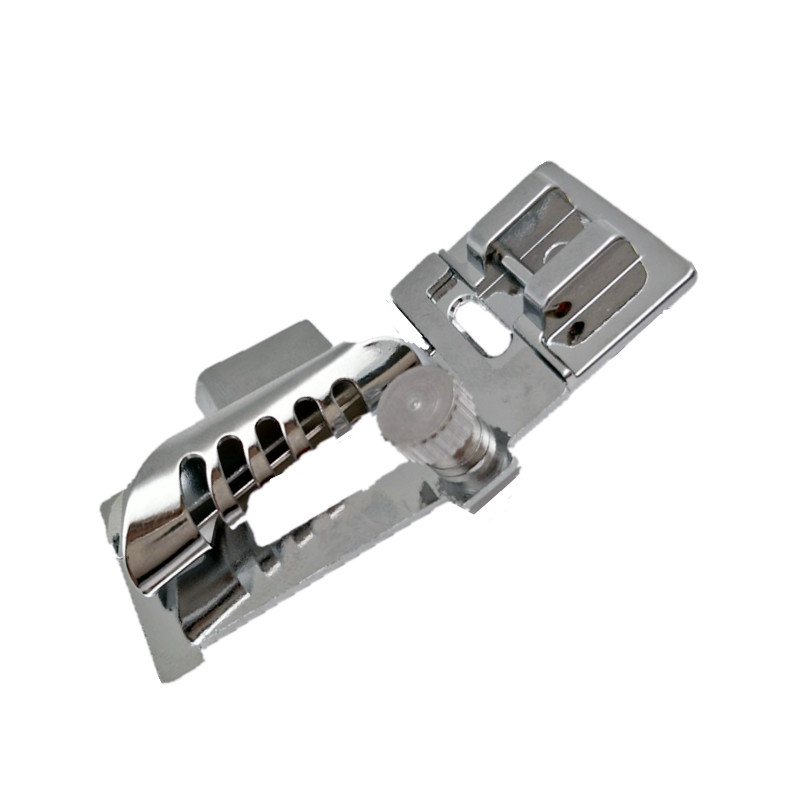 Sewing Machine Part HM-9907(5011-19) SNAP ON Metal Bias Tape Binder Presser Foot Compatible With Brother /Janome/SINGER 5BB5021