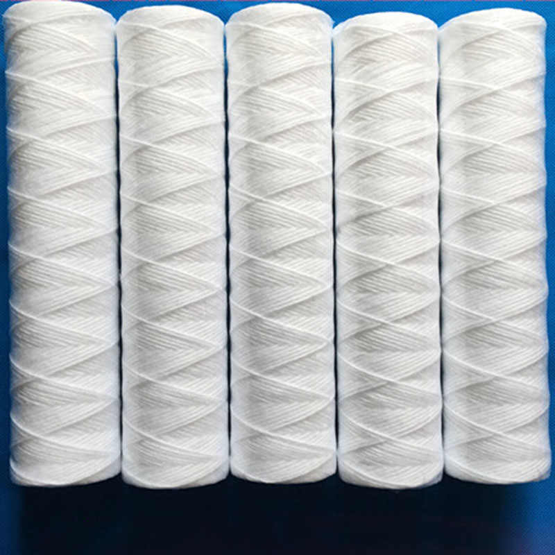 "Air Purifier 3Pcs X 10 ""String Wound Filter Cartridge 5Micron PP Kapas Filter Sedmient Filter"