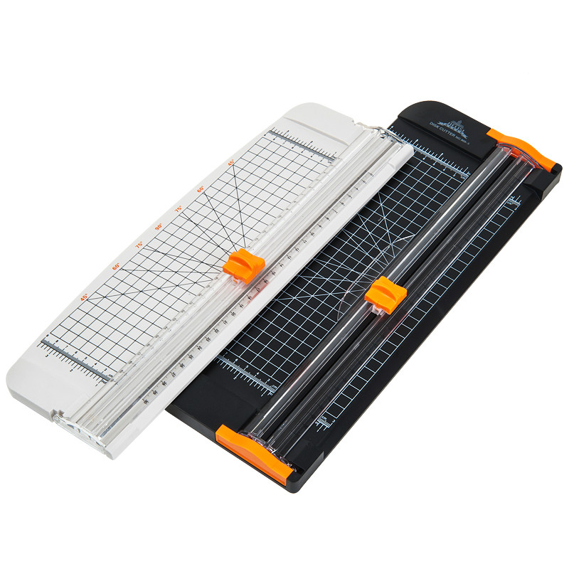 цены Packet Cutting Machine 909 Series A4 Paper Cutter board Knife Slide Knife Black Belt Ruler Cutter Knife Paper