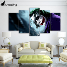 ArtSailing 5 pieces HD Printed Joker pictures Painting Canvas Print room decor print poster picture canvas Free shipping/ny-4576