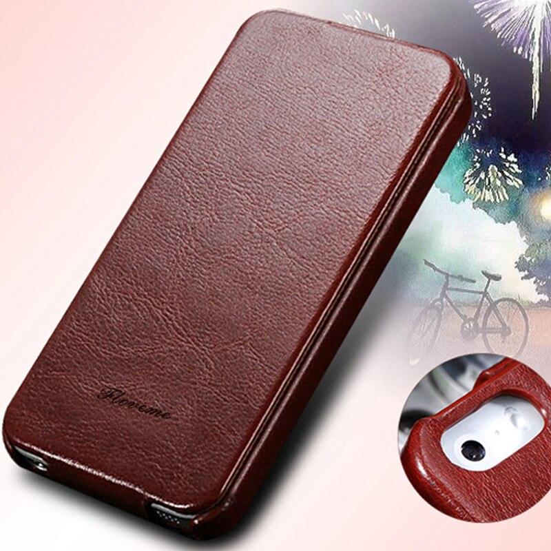 FLOVEME Retro Phone Bag Case For iPhone 6 6s Plus iPhone 7 Plus Leather Flip Case