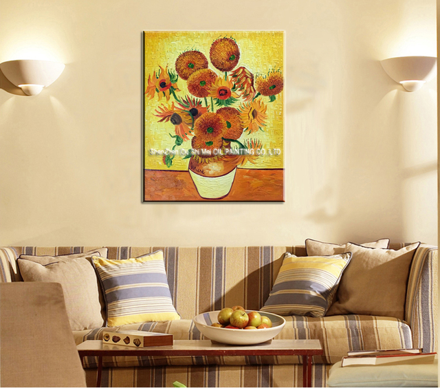 Imitation Canvas Oil Painting Van Gogh Wall Art Picture For Living ...