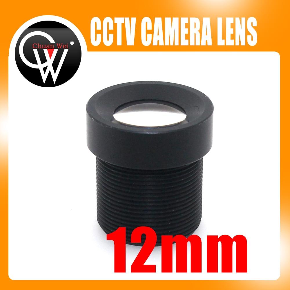100db / tétel 12 mm-es lencse, 25 fokos CCTV lencse M12 Board kamera - Biztonság és védelem