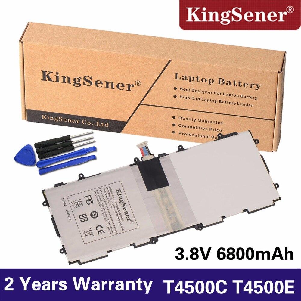 KingSener T4500E T4500C Ersatz Batterie Für Samsung Galaxy Tab 3 10,1 P5200 P5210 P5220 P5213 GT-P5200 SP3081A9H 6800 mah