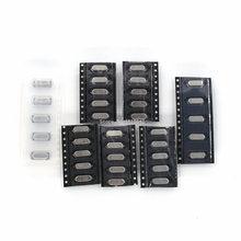 35 шт./лот SMD кристаллы 6 МГц 8 МГц 10 МГц 12 МГц 16 МГц 20 МГц 11,0592 МГц 49SMD Кристалл Комплект для осциллятора каждый 5 шт