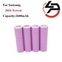 4 unids/lote 2016 Original del 100% Para Samsung 18650 2600 mAh batería recargable li-ion batería ICR18650-26HM