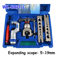 metric and inch tube expander kit air conditioner copper pipe pipe reamer tube flaring tool 6 19mm 1/4 3/4 inch tube flaring kit tube expander pipe flaring -