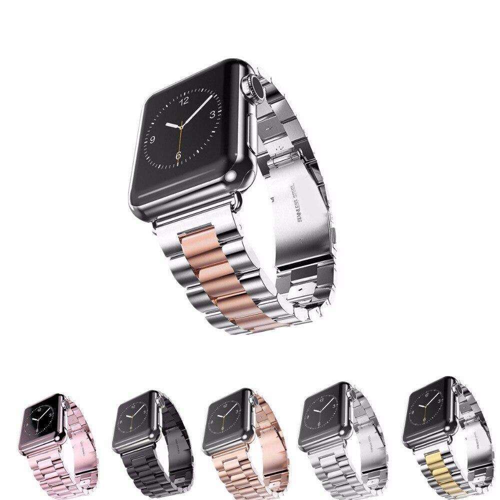 LNOP cinturino In Acciaio per apple watch band 42mm/38 Intelligente Vigilanza Del Braccialetto Cinturino Cinturino di Ricambio per iwatch serise 3/2/1
