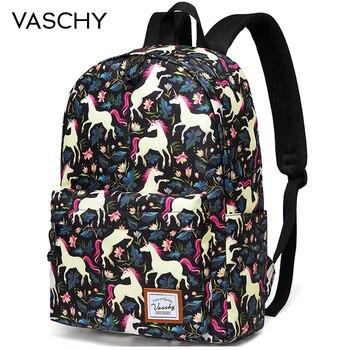 3bf8b2325c0a Модный женский рюкзак для девочек, Классический Водонепроницаемый ...