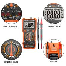 LOMVUM Portable Digital Mini Multimeter Auto Range Tester Multimetre Backlight AC/DC Ammeter Voltmeter Tester Meter Handheld LED цена 2017
