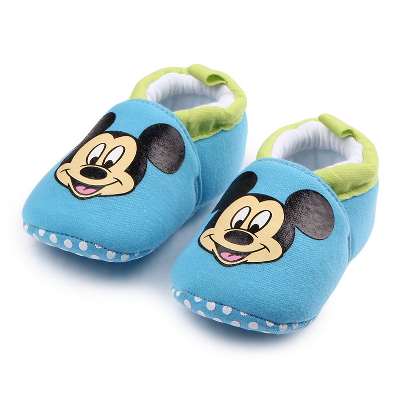 Brand Baby Shoes Cartoon Loafers Newborn Crib Shoes Infant