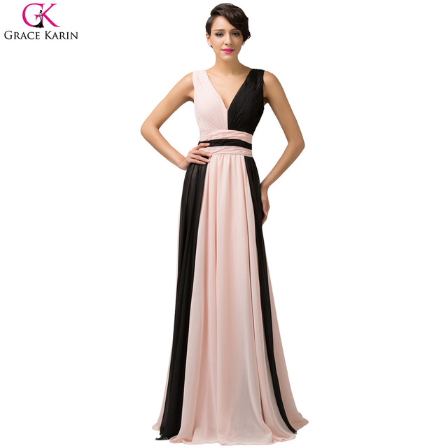Grace Karin Rainbow Prom Dresses Long 2017 New Ombre Dyeing Pink ...
