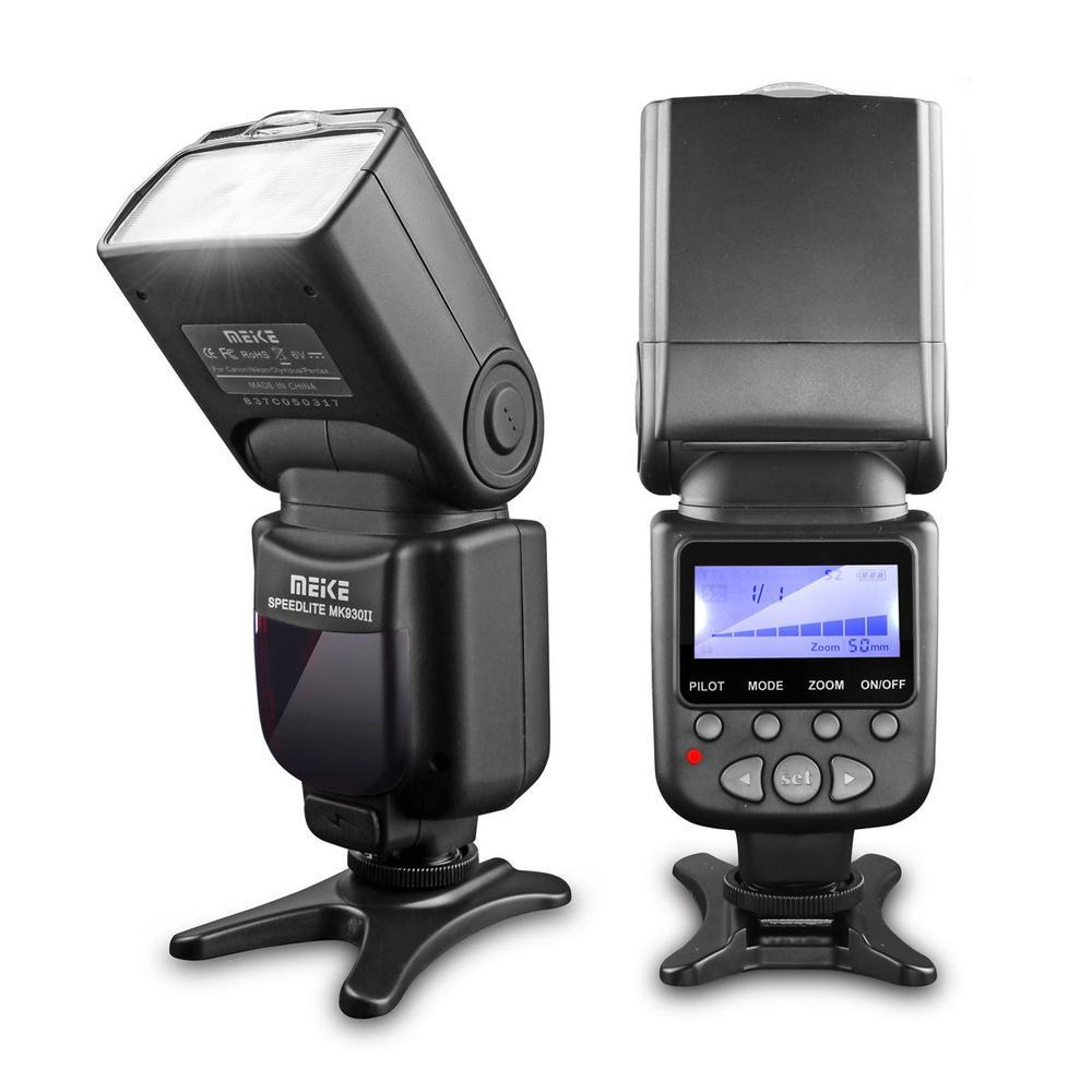 Meike Marque MK-930 II MK930 II Flash Light Speedlite pour Nikon Canon 400D 450D 500D 550D 600D 650D comme yongnuo YN-560 II YN560II
