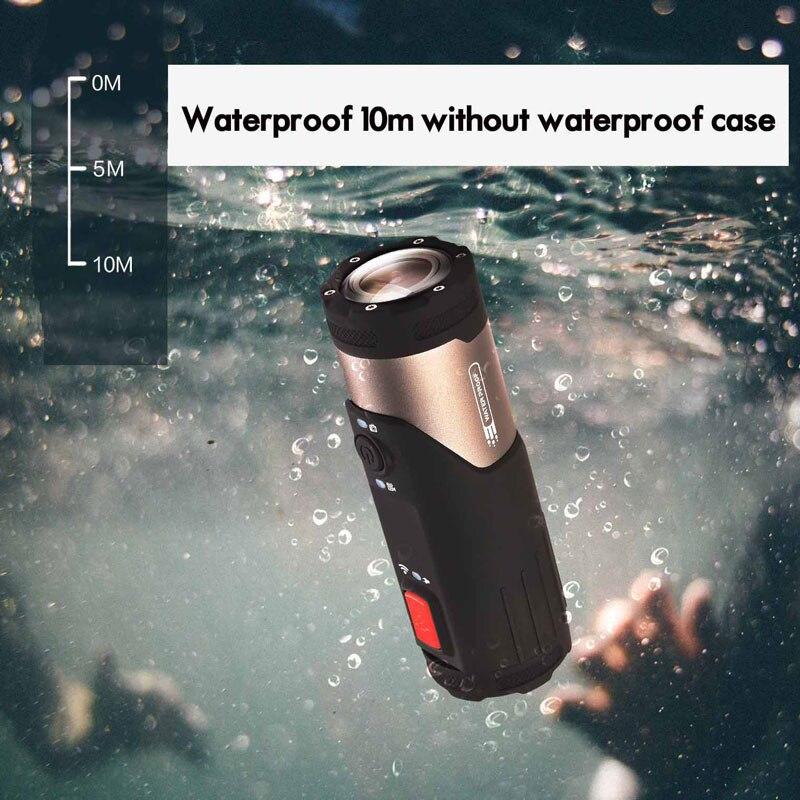 Caméra d'action Mini caméscope SOOCOO S20WS 170 degrés caméra à objectif large intégrée WiFi Full HD 1080 P 10 m caméra de sport étanche - 3
