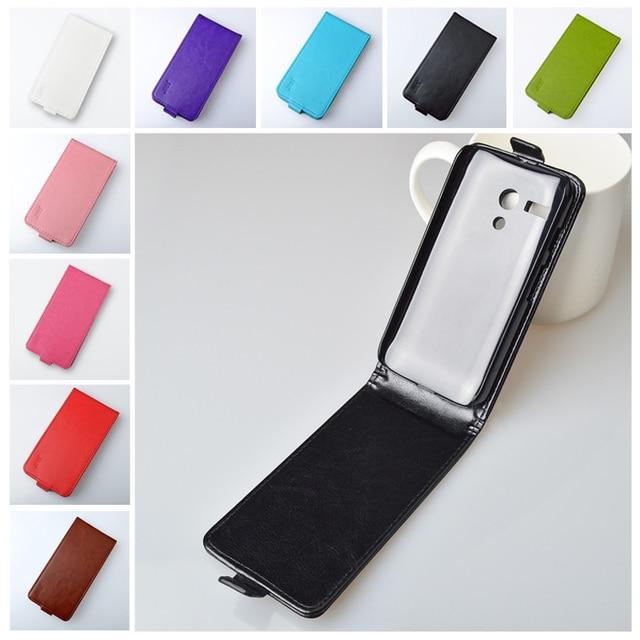J&R Brand Luxury PU Leather Flip Case For Motorola MOTO G XT1028 XT1032 XT1031 Cover Vertical Magnetic Flip Phone Accessories