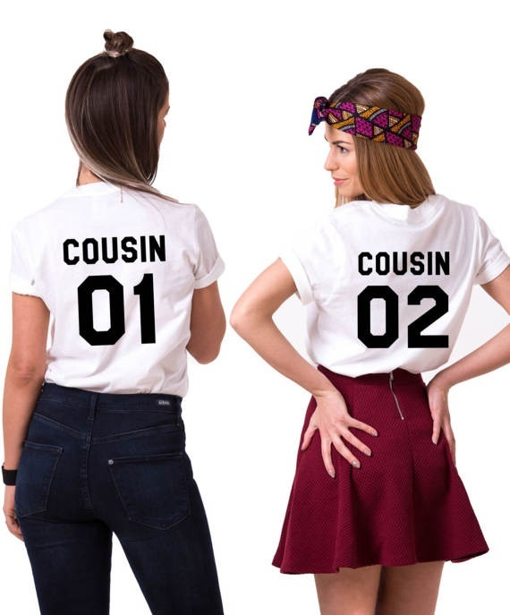 Cousins Matching Cousin Shirts Nah We\u2019re Best Friends **Free Shipping