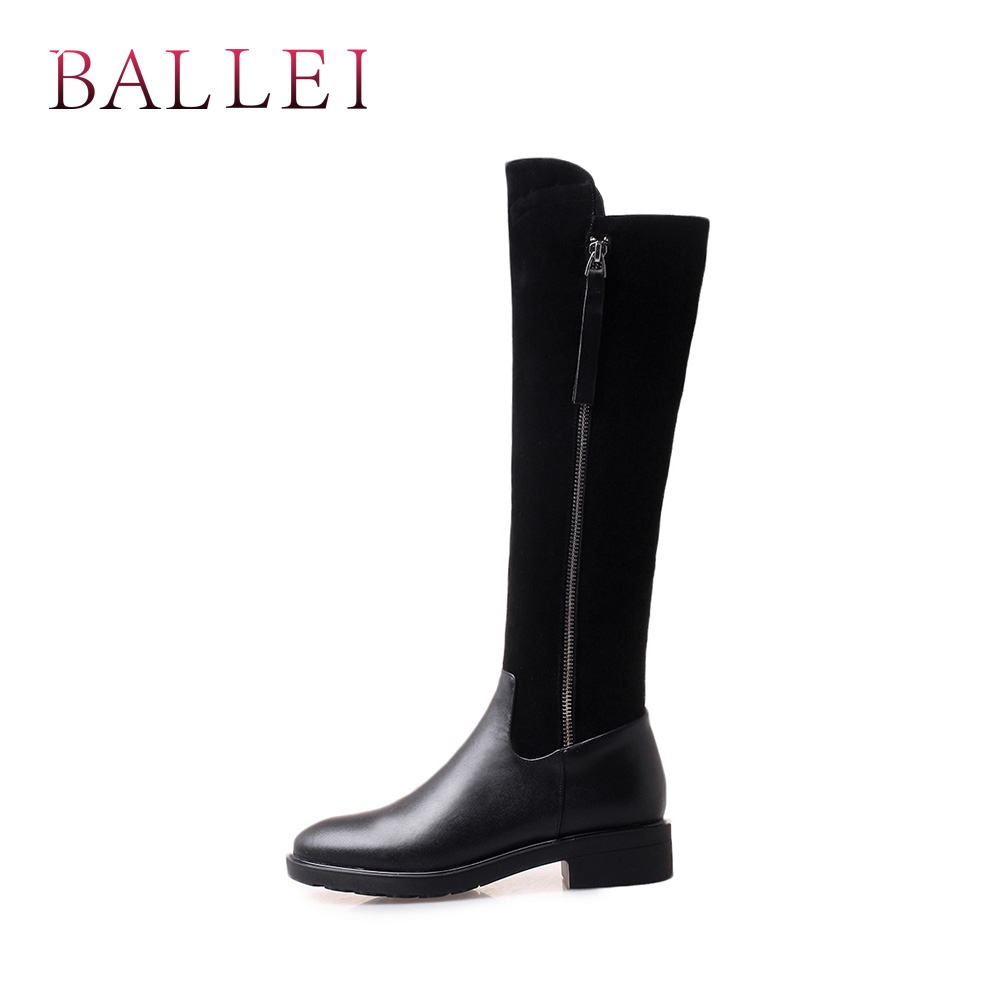 La Mano Rodilla Clásicas Vintage Encima Retro Alta H37 Mujer Black Ballei De Zapatos A Redonda Calidad Por Vaca Hecho Botas Cuadrado Tacón Punta Suave Wq0qwSn4